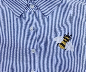 alternative, bee, and blue image