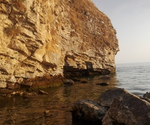 nature, rock, and holiday image