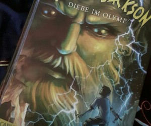 books, german, and percy jackson image