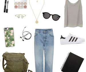 fashion, green, and make up image