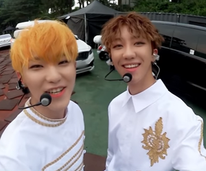 kpop, soonyoung, and minghao image
