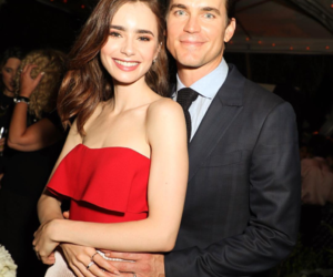 lily collins, matt bomer, and beauty image