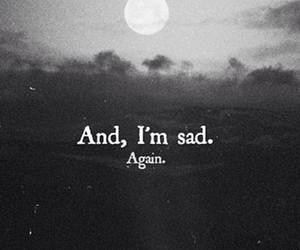 blackandwhite, sadness, and depression image