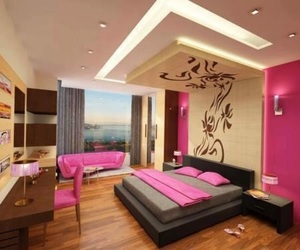 bed room, luxurious, and home image