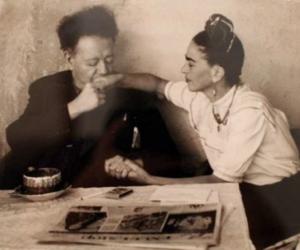 frida kahlo and love image