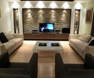 home, luxurious, and living room image