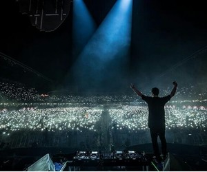 lights, show, and martin garrix image