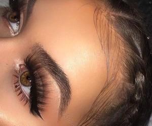 beauty, eye, and smokey image