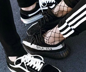 vans, adidas, and shoes image
