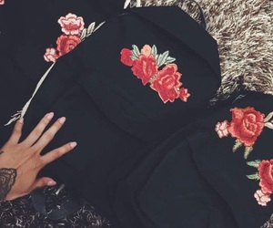 rose and backpack image