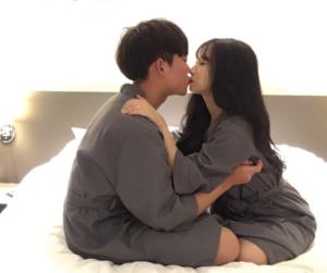 couple, korean, and korea image