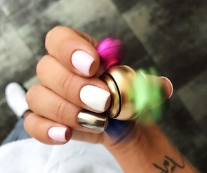 fashion, manicure, and nail polish image