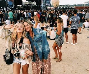 festival, girl, and photo image