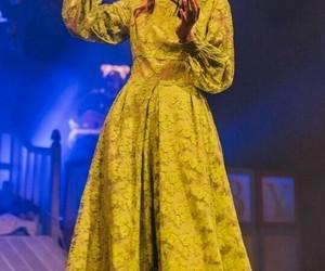 melanie, yellow, and yellow dress image