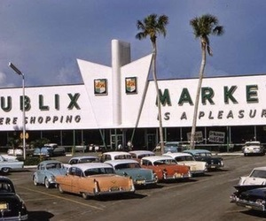 1950, 50's, and cars image
