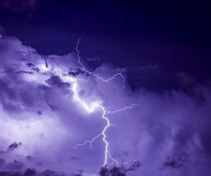 storm and purple image