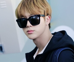 glasses, bts, and jhope image
