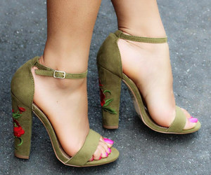 high heels and shoes sandals image