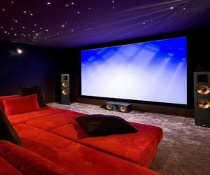 cinema and home image