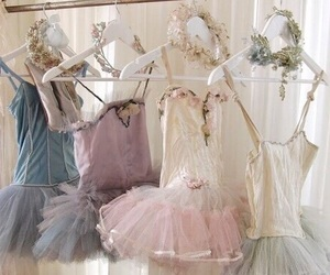 ballet, vintage, and dress image
