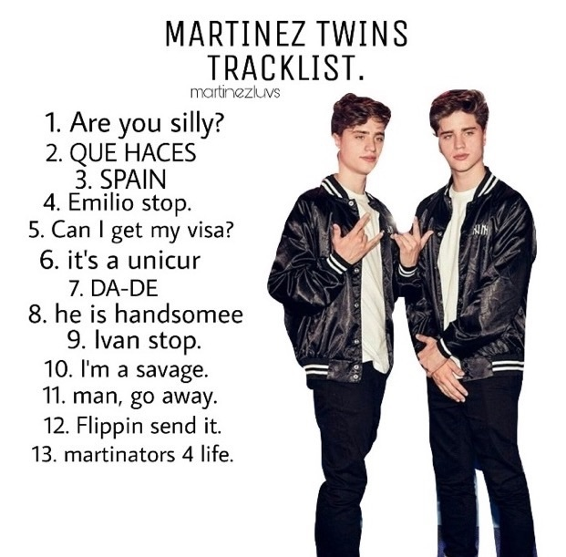 Martinez Twins😂😂😂 uploaded by anónimo