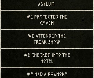 asylum, cast, and cult image