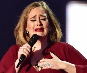 Adele, celebrities, and popular image