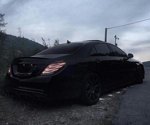 black, car, and dark image