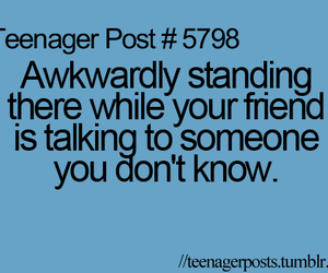 awkward, bff, and lol image