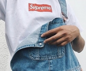 supreme, fashion, and aesthetic image