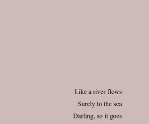 alone, river, and darling image