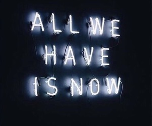 indie, neon, and quotes image