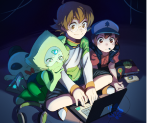 Voltron and gravity falls image