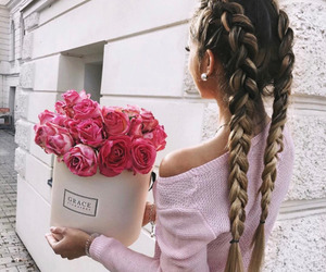 beautiful, gorgeous, and hairstyle image
