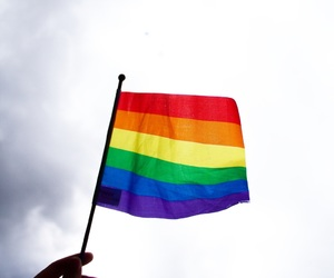 flag, gay, and photography image