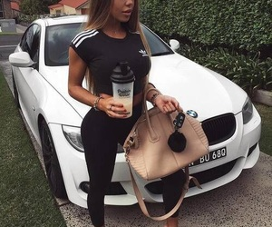 adidas, beauty, and bmw image