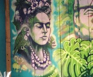 art, bird, and frida kahlo image