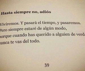 adios, amor, and frase image