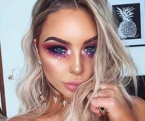fantasy, pink, and makeup image