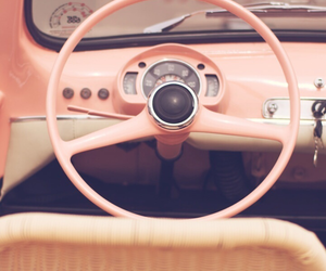 pink, vintage, and background image
