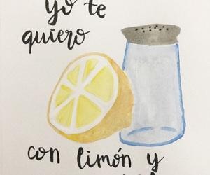 amor, lemon, and salt image