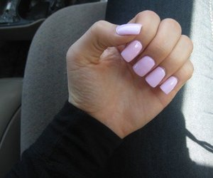 nails, nail polish, and pretty image