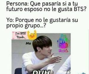 bts, kpop, and memes image