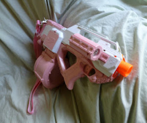 awesome, nerf, and gun image
