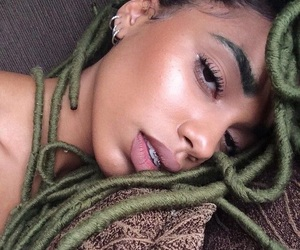 hair, beauty, and eyebrows image