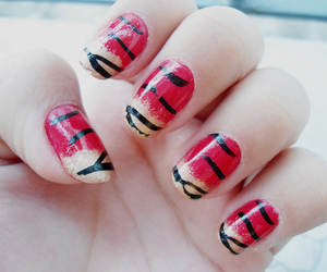 fashion, red, and unhas image