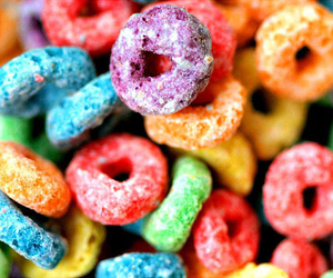 cereal, colors, and food image