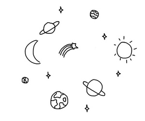 planets, space, and universe image