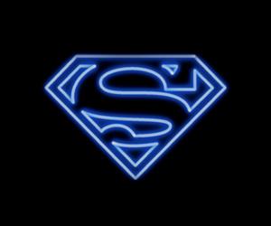 neon and superman image