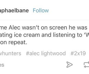 text, tumblr, and alec lightwood image